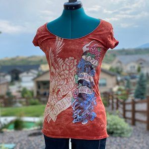 Cecico tie-die printed t-shirt - small